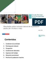 Resultados - Inclusión Laboral