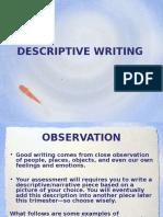 descriptive writing  1