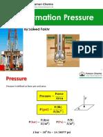 Formation Pressure