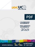 Reglamento Académico 2015