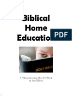 Biblical Home Education (3702437)