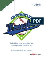 Automotive Digital Marketing - Moneyball