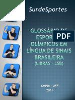 Glossario de Esportes Olimpicos - LIBRAS