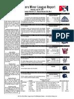 7.30.16 Minor League Report