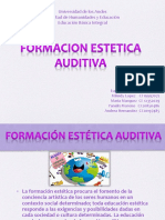 Diapositivas de Formacion Estética Auditiva