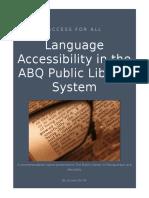access for all-reccomendation report  final mwa3