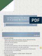 Los Escrutinios en El Proceso de IC