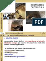 Excavación de Túneles