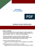 PEGA PRPC 05 Activities