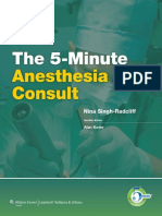 5 Minute Anesthesia Consult (2013).pdf