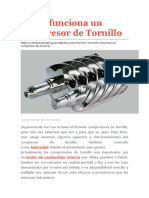 Cómo Funciona Un Compresor de Tornillo[1]