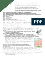 PORTUGAL Resumo sobre a Historia