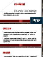 The Various Aspects of Holistic Development