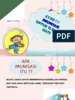 Penyuluhan imunisasi