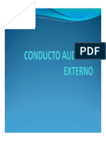 CONDUCTO AUDITIVO EXTERNO