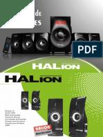 Catalogo Parlantes Halion