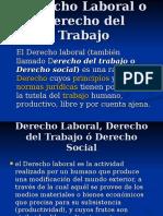 LEGISLACION 2o PARCIAL Derecho Laboral o Derecho Del Trabajo