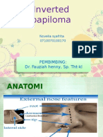 Ppt Inverted Papiloma Fix