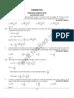 Kinematics(2)