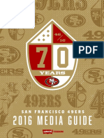San Francisco 49ers 2016 Media Guide