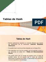 Tablas Hash
