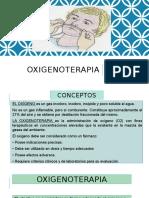 oxigenoterapía