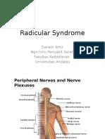 Radicular Syndrome Kuliah Blok