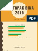 Stat Ops Tapak Bina 2015