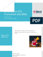 Building Your ETL Framework With BIML