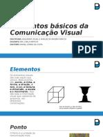 Elementos Básicos da Comunicação Visual