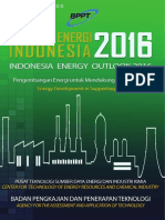 BPPT - Outlook Energi Indonesia 2016