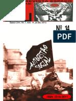 Revista Espaço Livre - Volume 7 - Nº 14