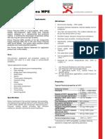 Fosroc Polyurea WPE Rev C Oct 2015