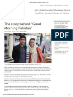 "The story behind ""Good Morning Pakistan"" 