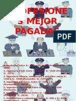10 Profesiones Mejor Pagadas