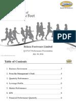 Q1 FY17 Perfomance Presentation [Company Update]