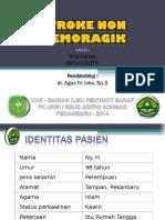 PPT - Case Stroke Infark