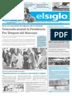Edicion Impresa El Siglo 31-07-2016