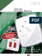 Aico Carbon Monoxide Alarms Product Guide