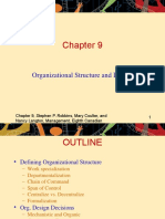 mgmt192-Chp9-OrgStructureAndDesign