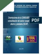 CONDUSEF lineamientos 2012