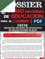 Dossier 2do Foro Nacional de Educacion Para el Cambio Social