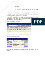 SAP Fi CD Document