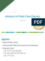 Introduce to Public Cloud Service