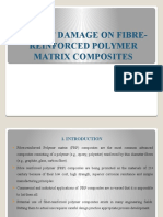 Impact Damage on Fibre-reinforced Polymer Matrix Composites
