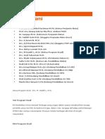 Daftar Dosen Fkip Mipa UNSRI