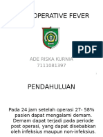 POST-OPERATIVE FEVER.pptx