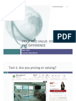 Value Versus Price New