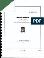 Bozza -Agrestide (Piano)