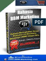 1. Rahasia BBM Marketing
